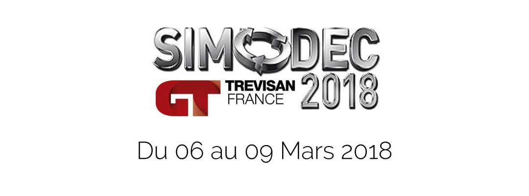 Invitation au salon simodec 2018 trevisan france for Salon 2018 france